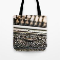 the national Tote Bags featuring National Cash by Caitlyn Grasso