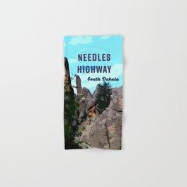 Needles Highway South Dakota Hand & Bath Towel
