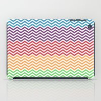 gumball iPad Cases featuring Gumball Chevron by Wicked Cool Studio