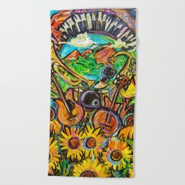 Nature's Muse Beach Towel