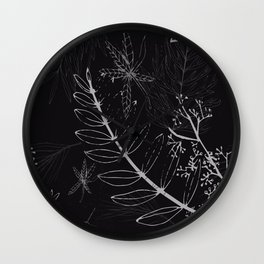 A night in a park Wall Clock