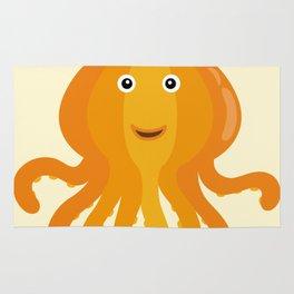 Nursery Octopus Pumpkin Thanksgiving Under the Sea Rug