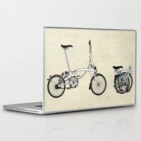 brompton Laptop & iPad Skins featuring Brompton Bicycle by Wyatt Design