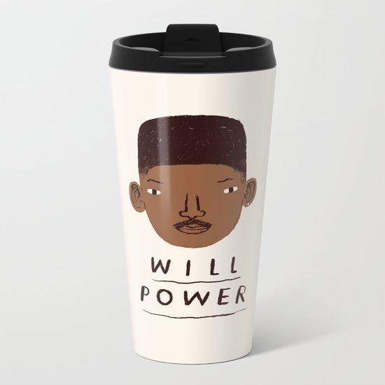 Will Power Metal Travel Mug