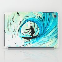 surfer iPad Cases featuring Surfer by Bruce Stanfield