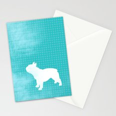 French Bull Dog Stationery Cards