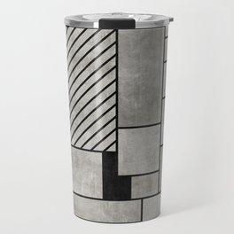 Random Concrete Pattern Travel Mug