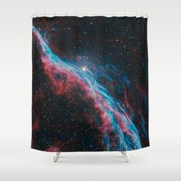 Veil Nebula Shower Curtain