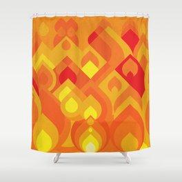 Fuego Shower Curtain