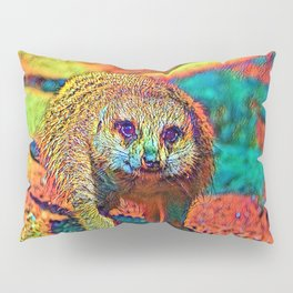 AnimalColor_Meerkat_003_by_JAMColors Pillow Sham