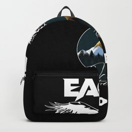 Grants Eagle Limited Edition Funny Backpack