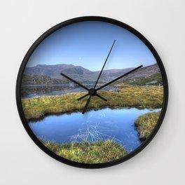 Ogwen's Pond Wall Clock