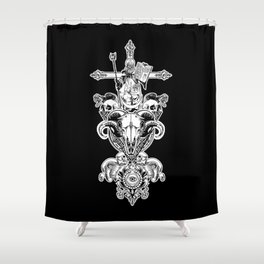 FAITH IN NOTHING Shower Curtain