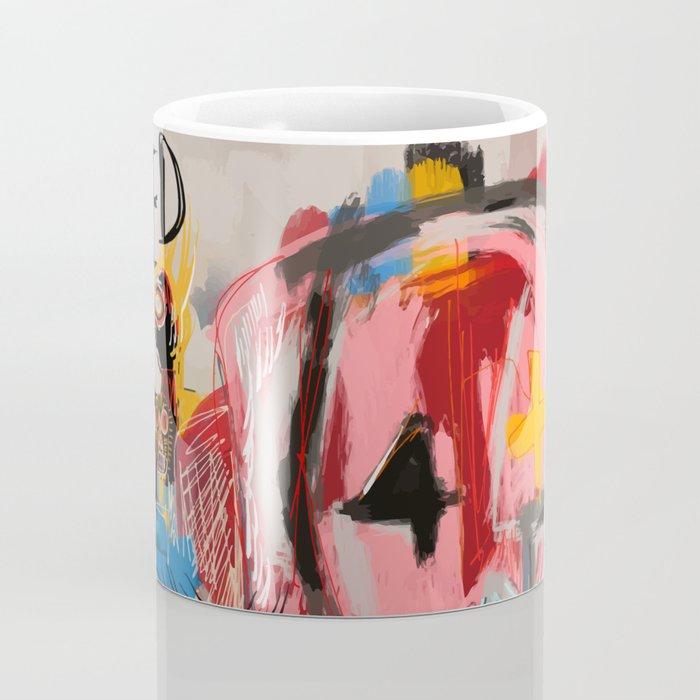"""The speed of life"" Street art graffiti and art brut Coffee Mug"