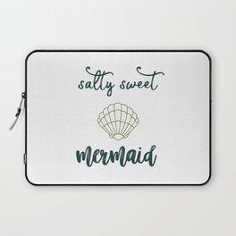 Salty Sweet Mermaid Laptop Sleeve