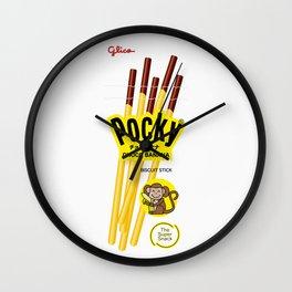 Pocky Packaging - Chocobanana Wall Clock