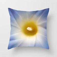 Vibrant Blue Throw Pillow