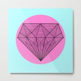 Crystaline in circle II Metal Print