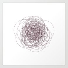 #280 Nervous – Geometry Daily Art Print
