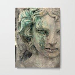 An Angel Cries Metal Print