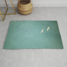 Two Birds Rug