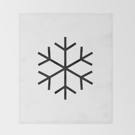 ice cold Throw Blanket