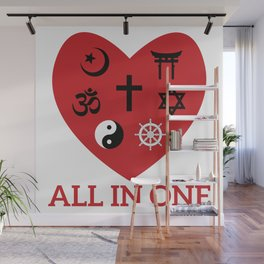 All in one Wall Mural