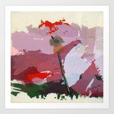 scatter, 5 Art Print