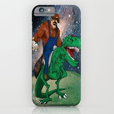 Raccoon Dino Rider.... Slim Case iPhone 6s