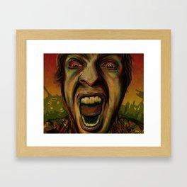 We hungry Framed Art Print