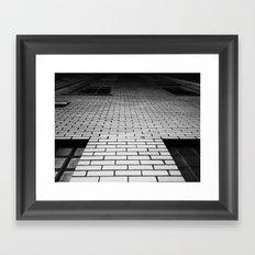 Hit the Bricks Framed Art Print