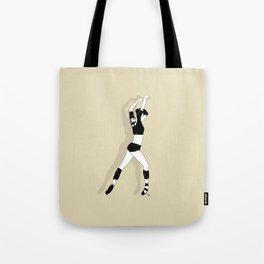 Gold Dancer Tote Bag