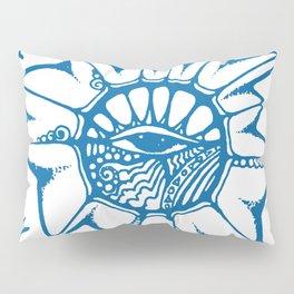 Brainstorm Blue Pillow Sham