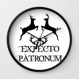 Expecto Patronum HarryPotter Wall Clock