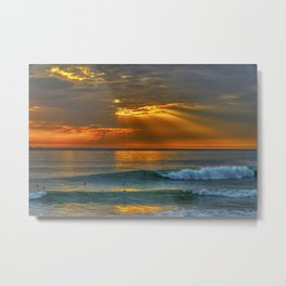 Sunset and a Show Metal Print