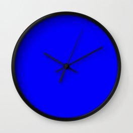 Cobalt Wall Clock