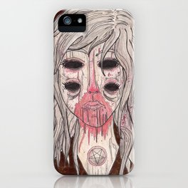 Man Eater iPhone Case