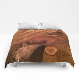 FARRAH MAiSEY (shelter pup) Comforters