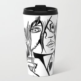 One Eyed Ghoul Metal Travel Mug