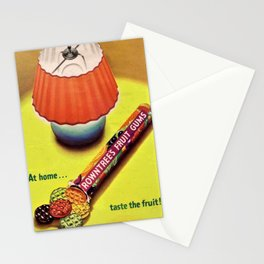 1952 Vintage Rowntree Fruit Gum Advertisement Wall Art Stationery Cards