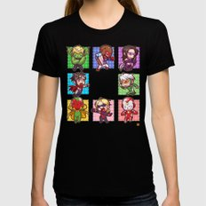 Young Avengers Black SMALL Womens Fitted Tee