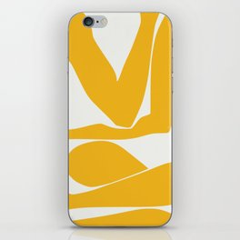 Yellow anatomy iPhone Skin