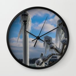 cold day Wall Clock