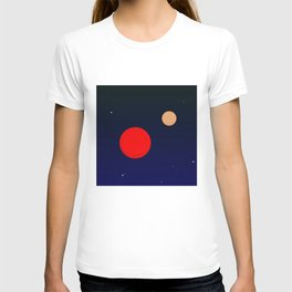 Two planets T-shirt