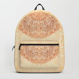 Elegance Ornate Mehndi Mandala v.2 Backpack
