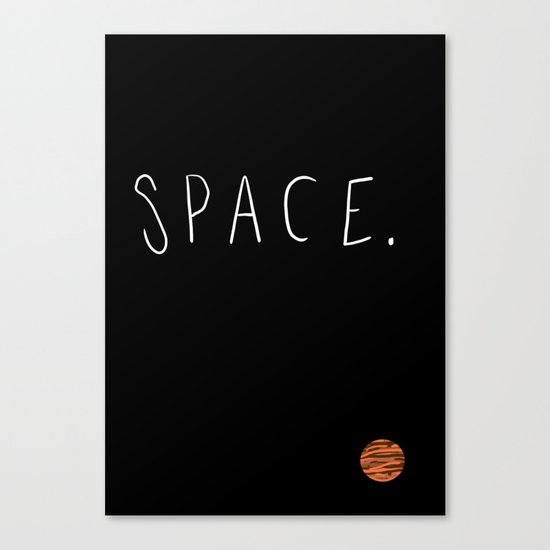 Space. Canvas Print