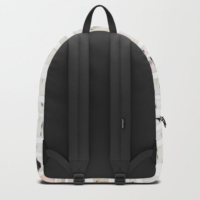 birch watercolor pattern 2018 Backpack