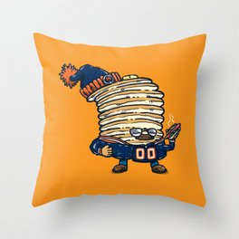 Da Pancakes Throw Pillow