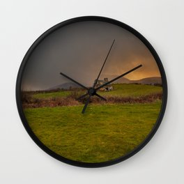 West Cork Caha Mountains Ireland Wall Clock