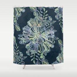 Floral Doodle Shower Curtain